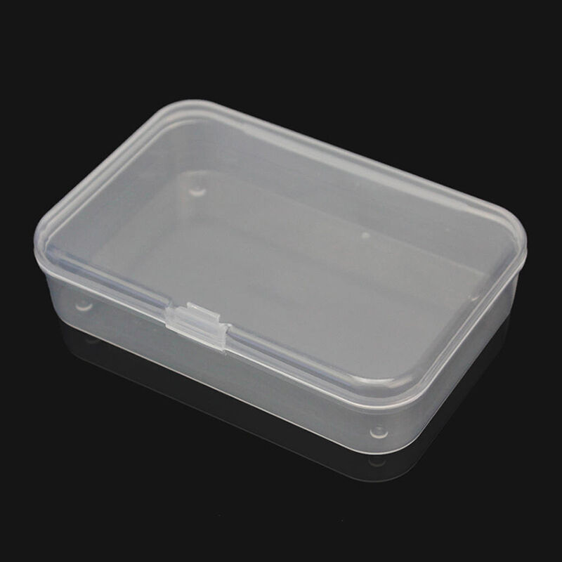 1X Plastic Storage Box Playing Cards Case Business Card