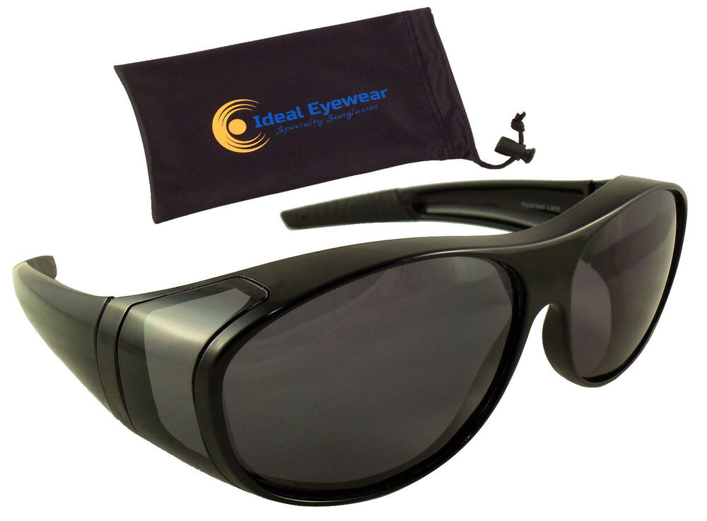 f85dacd768d POLARIZED Fit Over Sunglasses Wear Put Over Glasses Cover Fishing Golf  Driving