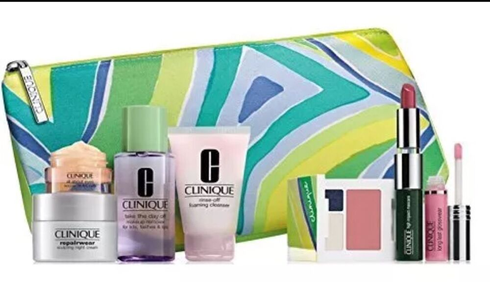 Clinique makeup skincare gift set cool ebay