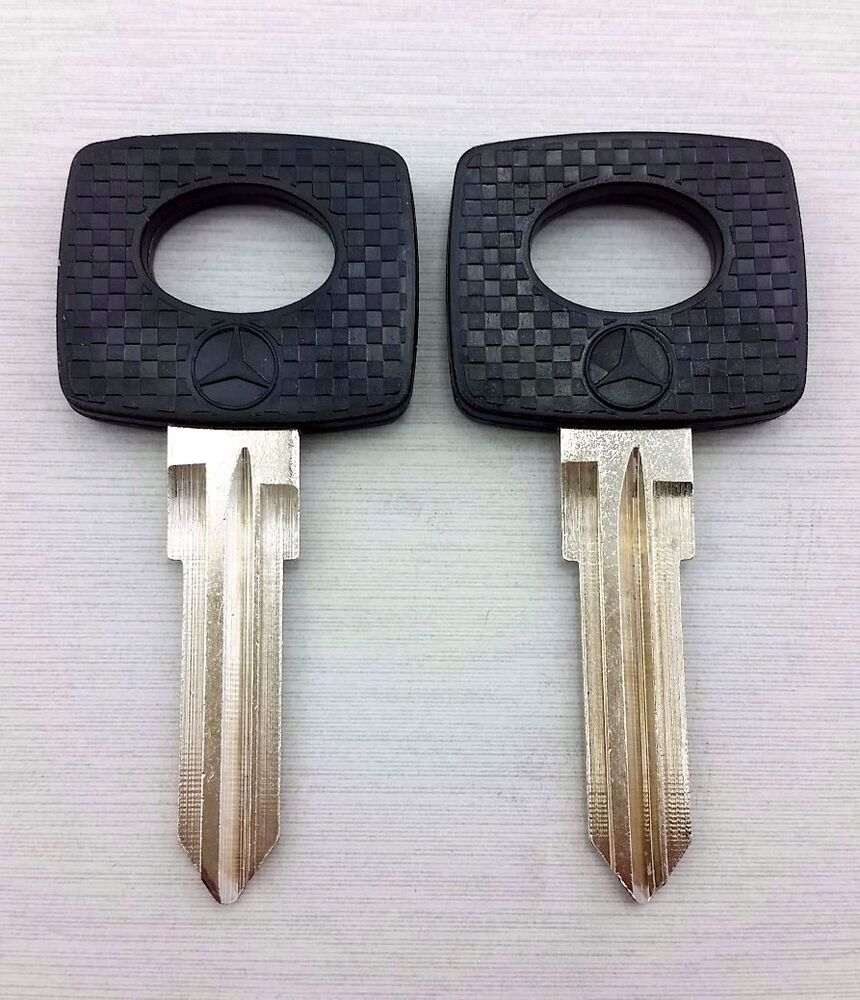 2x key blank mercedes benz ignition mb39p 300d 240d 300cd for Mercedes benz ignition key won t turn