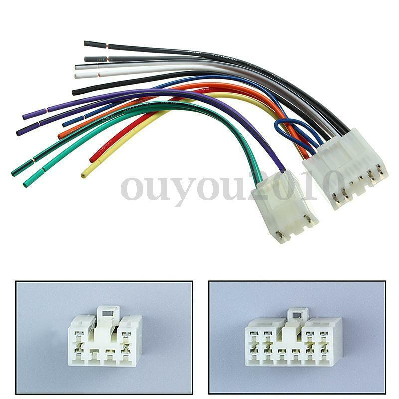 Car Radio Stereo Cd Player Reverse Wire Wiring Harness