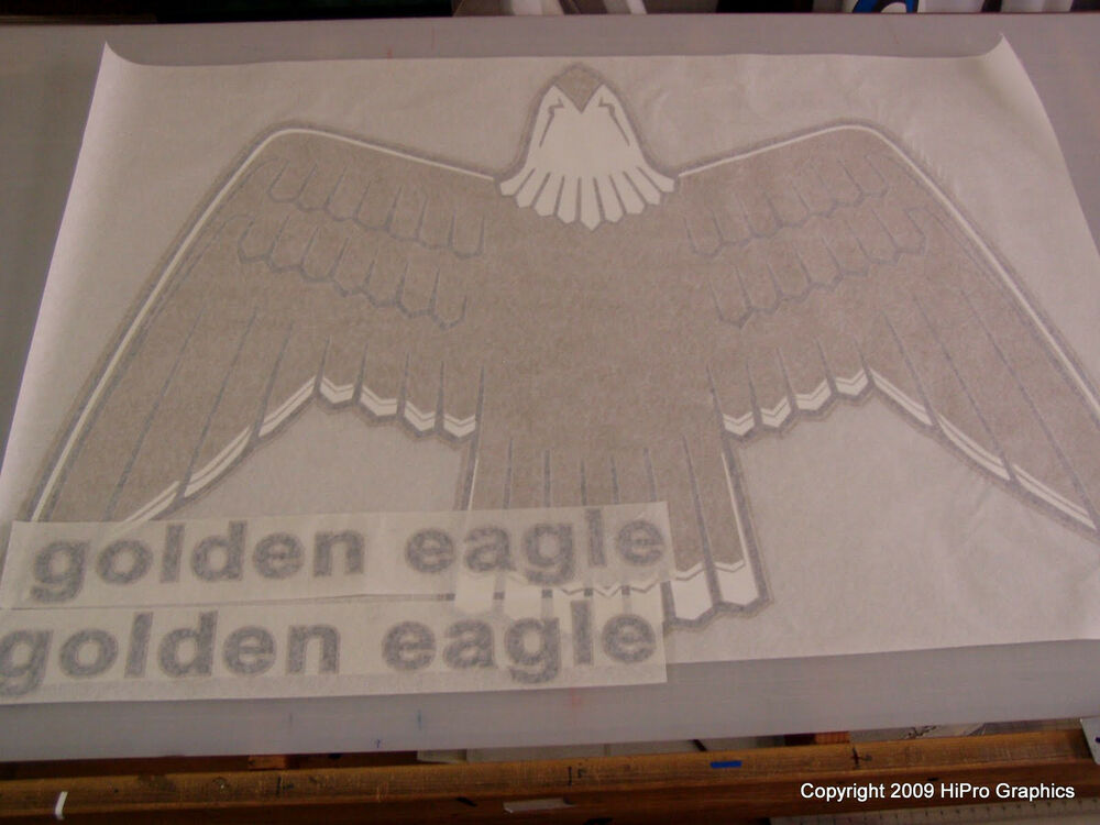 3m Hood Decal Set For 1977 80 Golden Eagle Jeep Cj7 Ebay