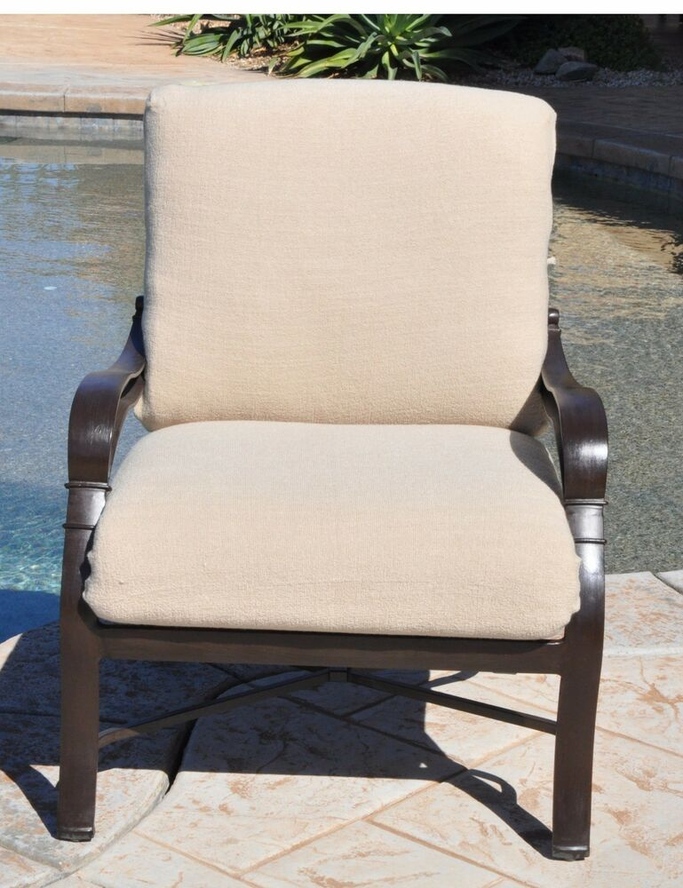 cushychic outdoor slipcover for deep seat patio cushions in 7 colors ebay. Black Bedroom Furniture Sets. Home Design Ideas