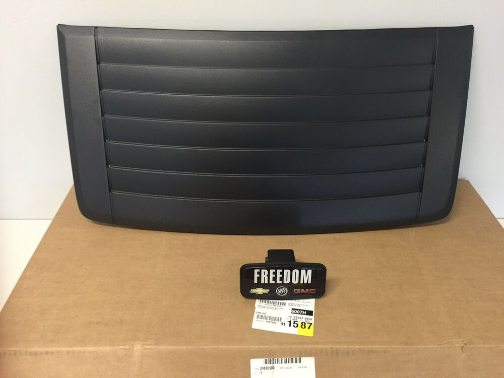 Gm 20880500 2006 2019 Hummer H3 Hood Louver Air Vent Grill