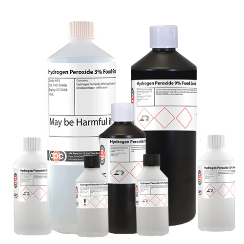 Hydrogen Peroxide FOOD GRADE - Choose 3%, 6%, 9% 12% and ...