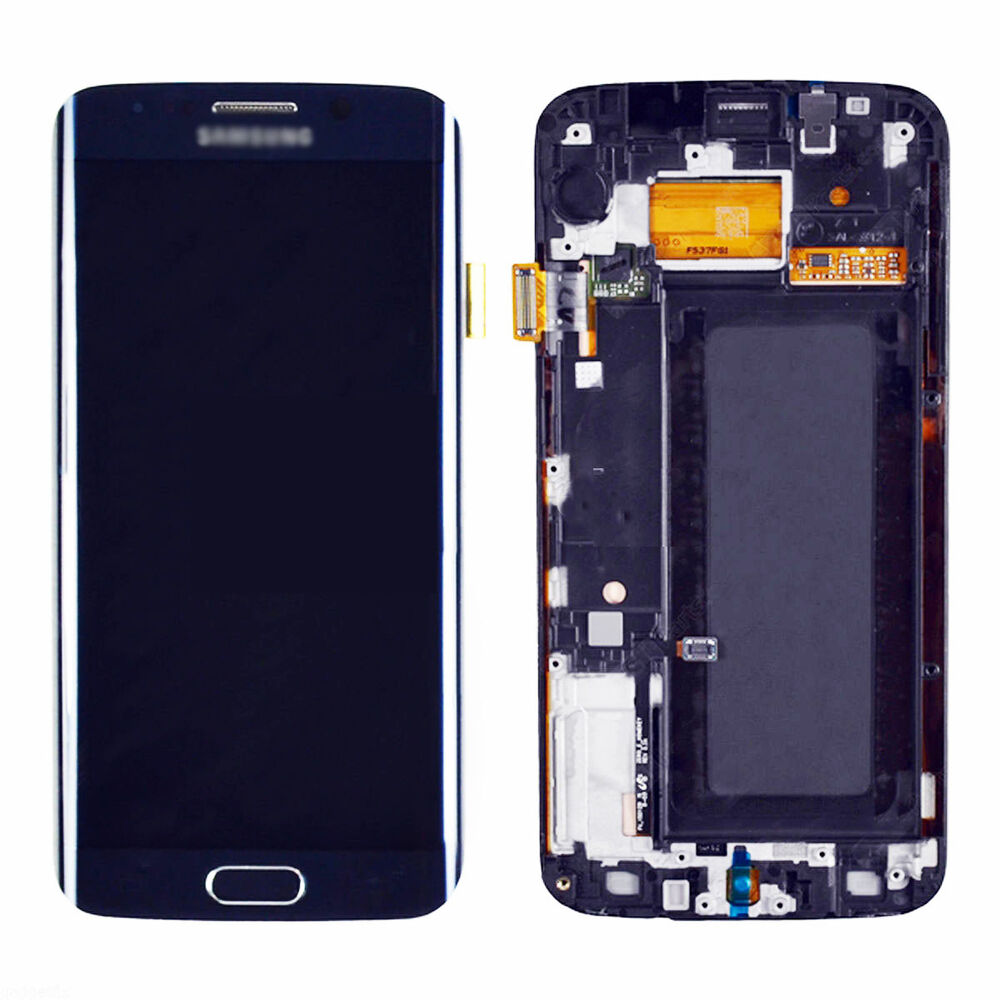 Frame Blue Lcd Touch Digitizer Assembly For Samsung Galaxy ...