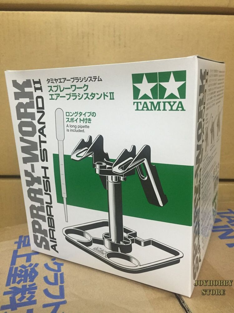 Tamiya 74539 spray work airbrush stand ii for spray for How does spray paint work