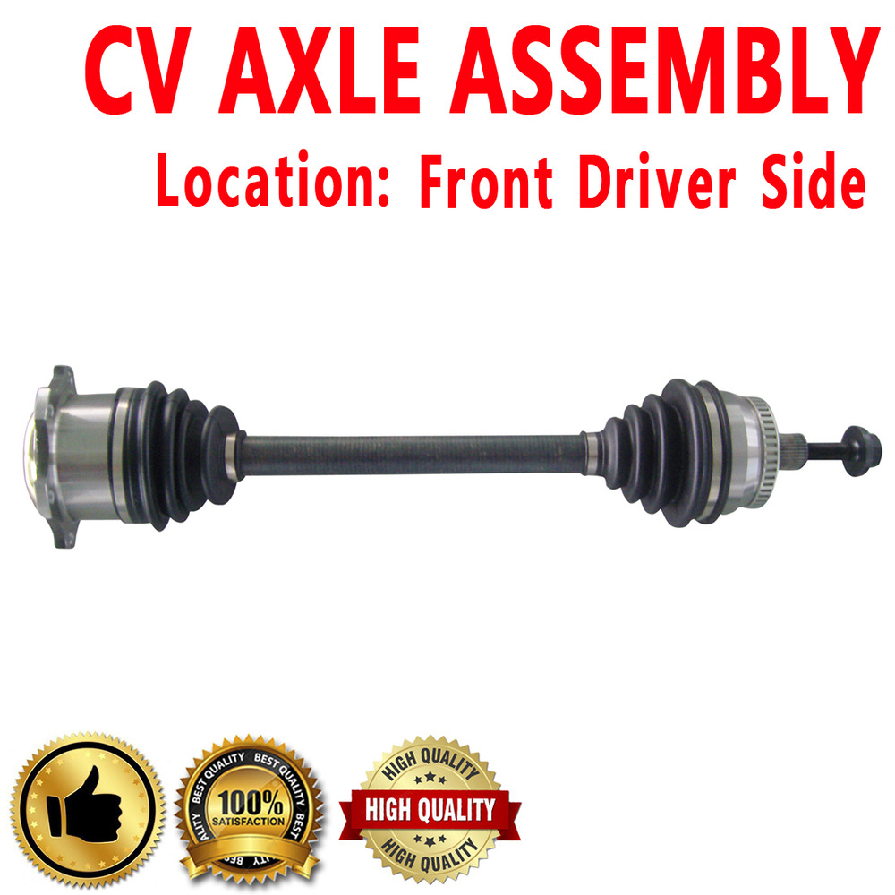 Front Driver Side Left CV Axle ASSEMBLY For AUDI A4 VOLKSWAGEN PASSAT | eBay