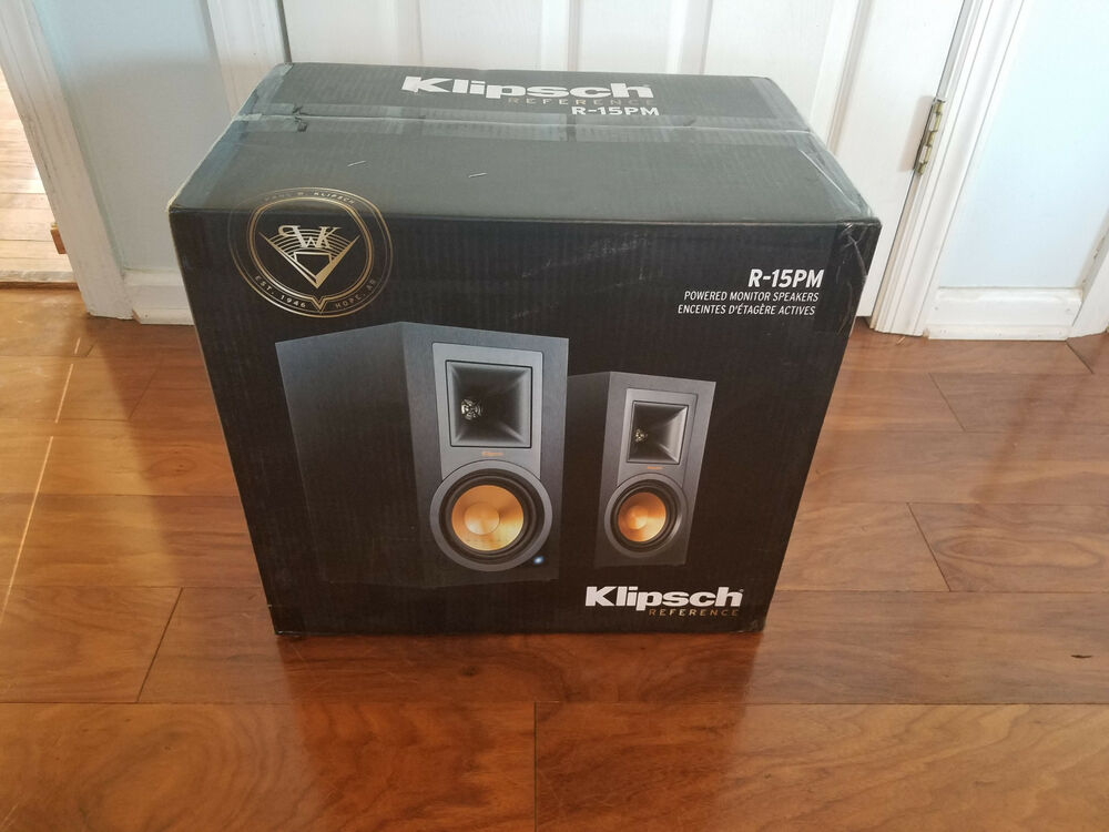 Klipsch R-15PM R15PM Powered Monitor Speakers with ...