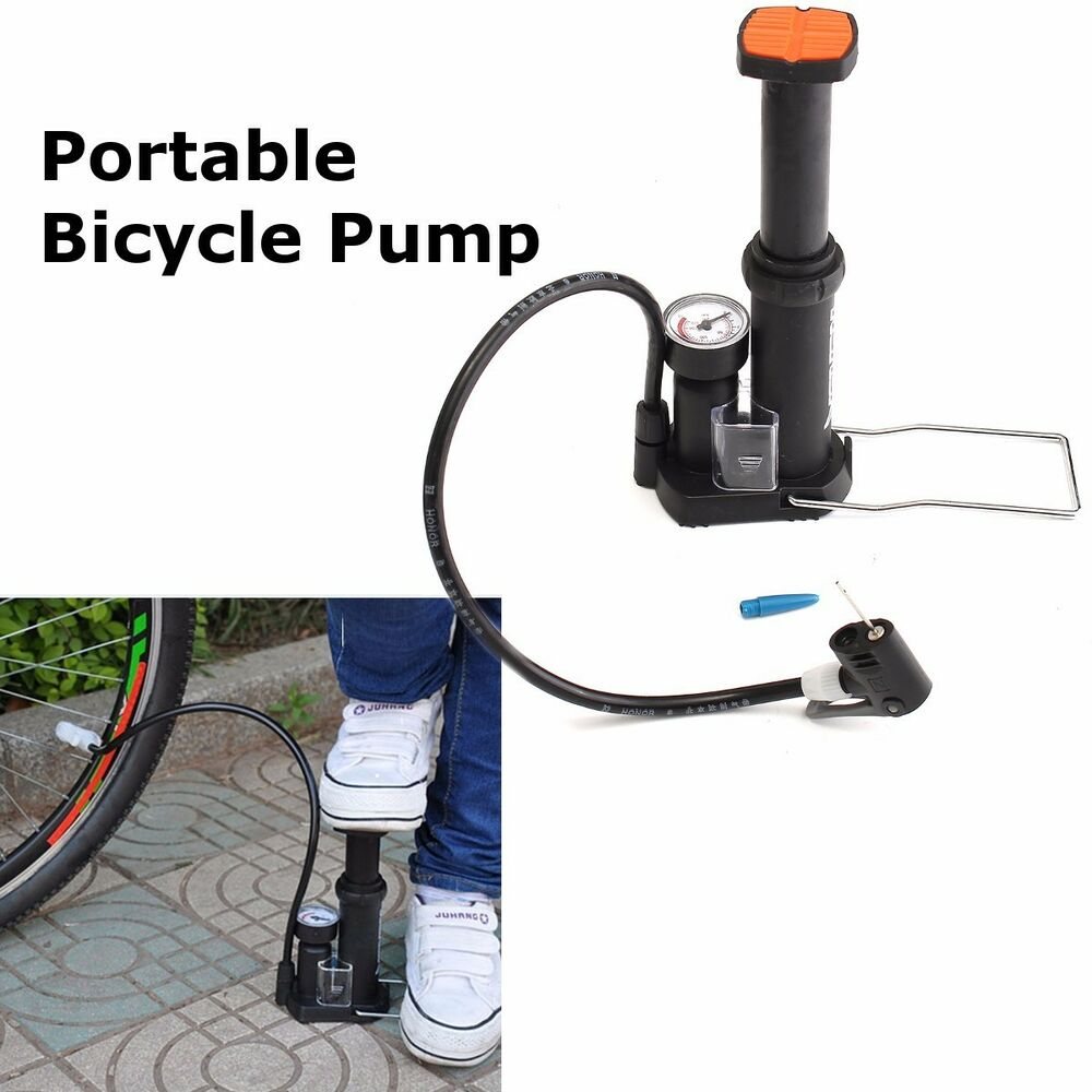 Mini Portable Bicycle Cycling Bike Air Pump Tyre Tire