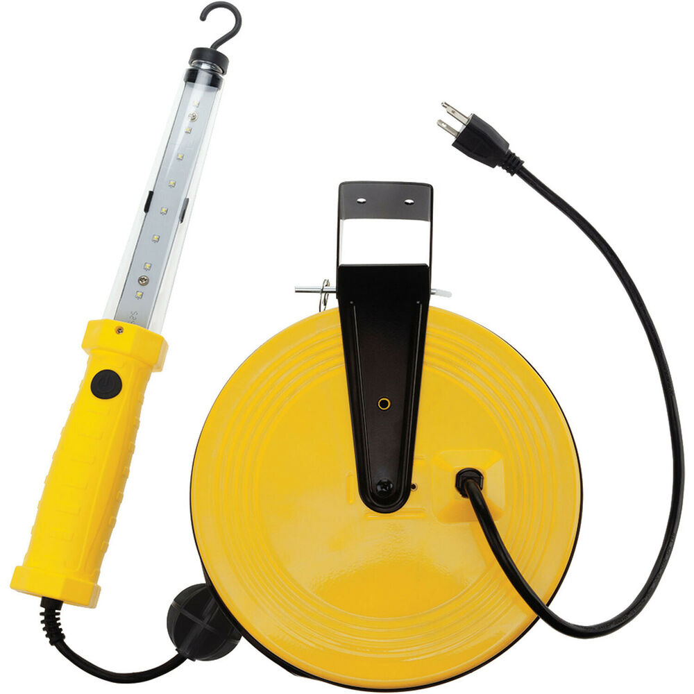 Bayco 1 200 Lumen LED Work Light On Retractable Reel SL