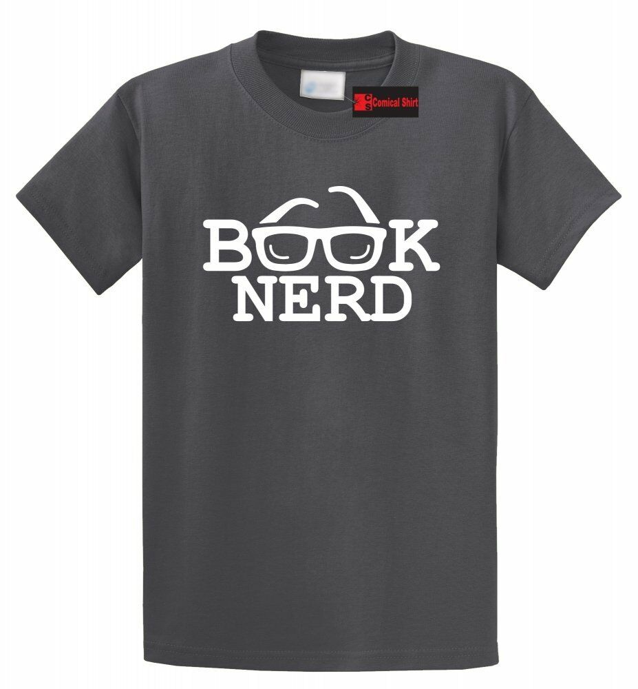 book nerd funny t shirt geek holiday gift book lover tee. Black Bedroom Furniture Sets. Home Design Ideas