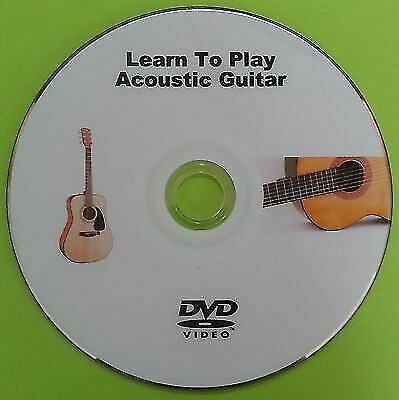 learn to play acoustic guitar tutorial lessons dvd ebay. Black Bedroom Furniture Sets. Home Design Ideas