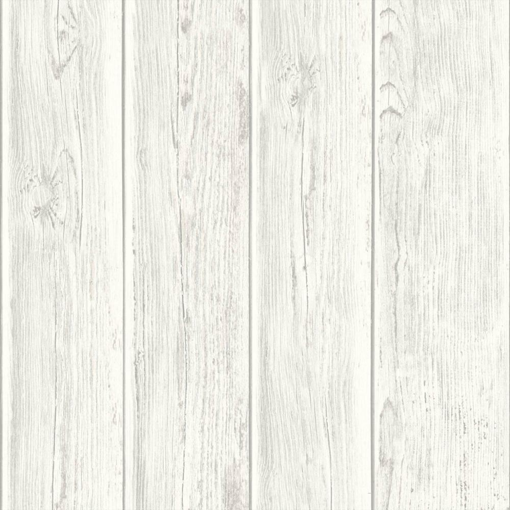 MURIVA WOOD BEAM PANEL PATTERN WOODEN FAUX EFFECT TEXTURED ...