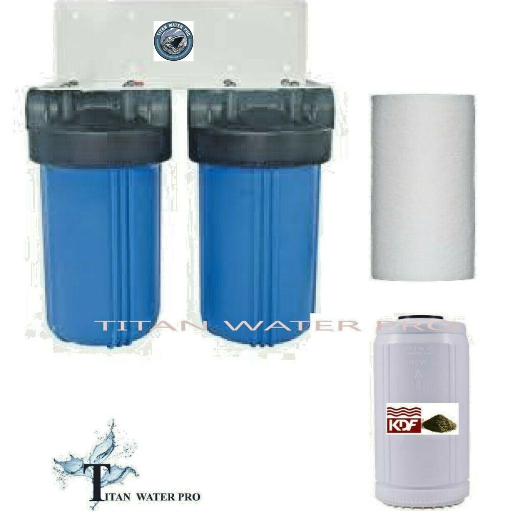 Whole House Water Filter Big Blue Water Filter System