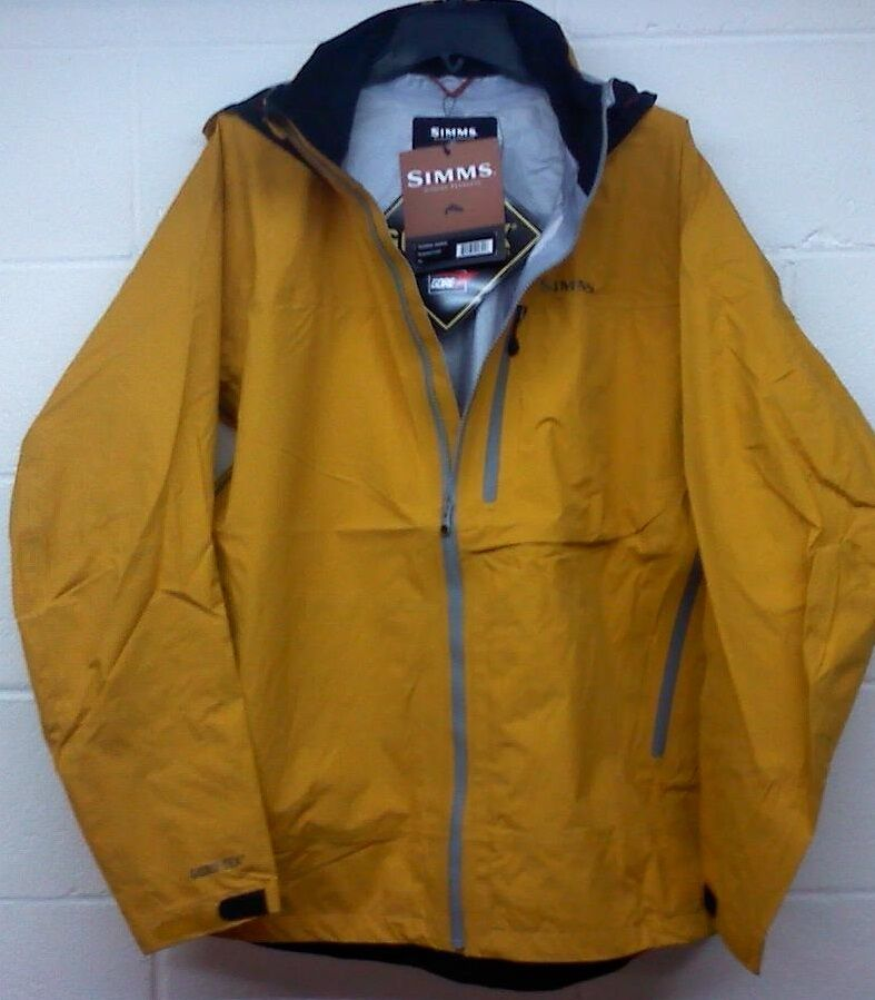Simms acklins gore tex fishing jacket size xl for Waterproof fishing jacket
