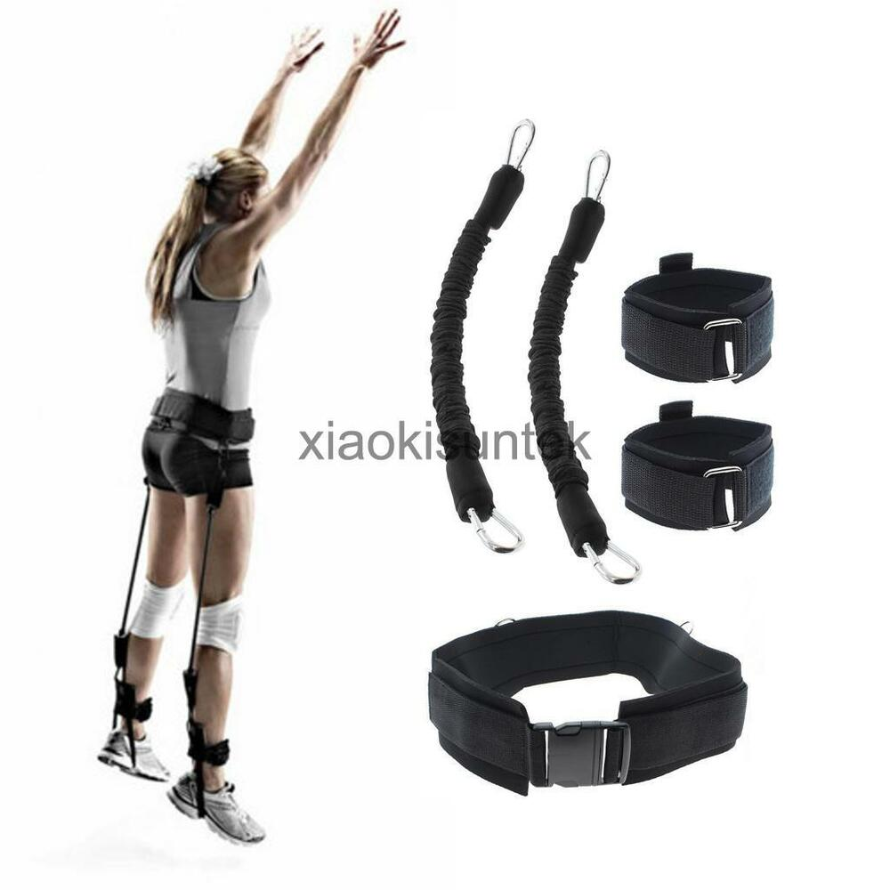 70LB Black Resistance Bands Jump Trainer Speed Agility
