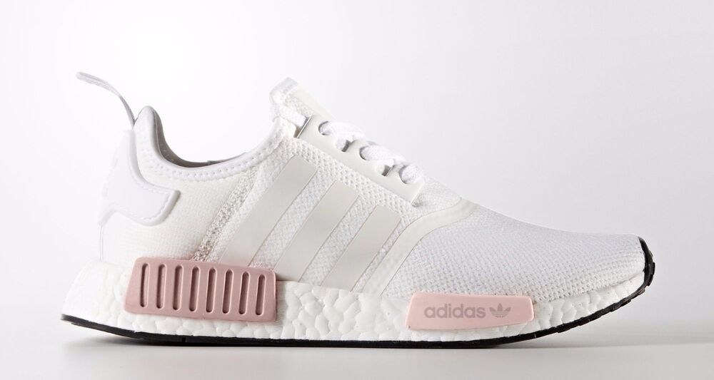 Adidas Womens NMD R1 Pink/White/Black   Culture Kings