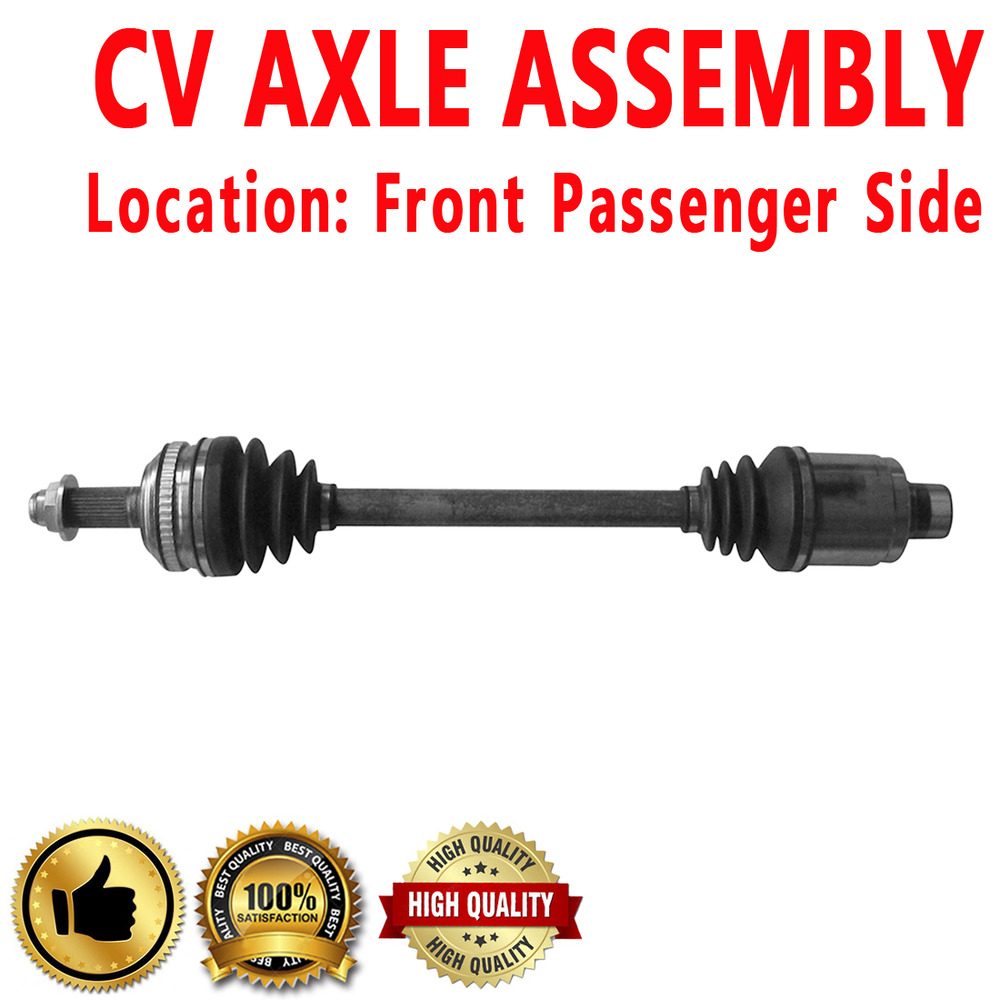 1x Front Passenger Side CV Axle Assembly For ACURA MDX 03