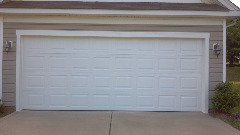 garage door 16 39 x7 39 vinyl back insulated ebay