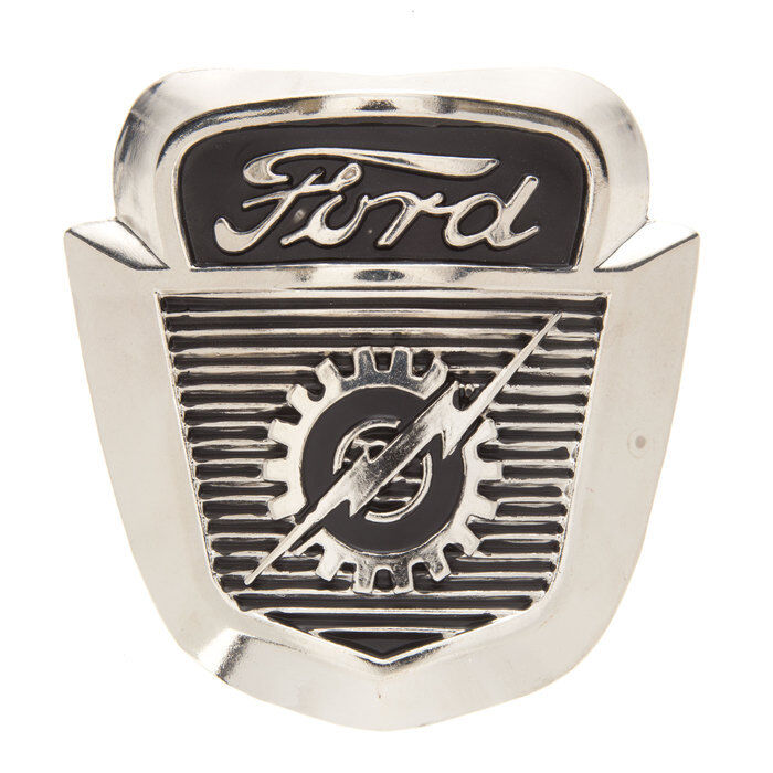Vintage Ford Cast Iron Badge Wall Decor Collectible