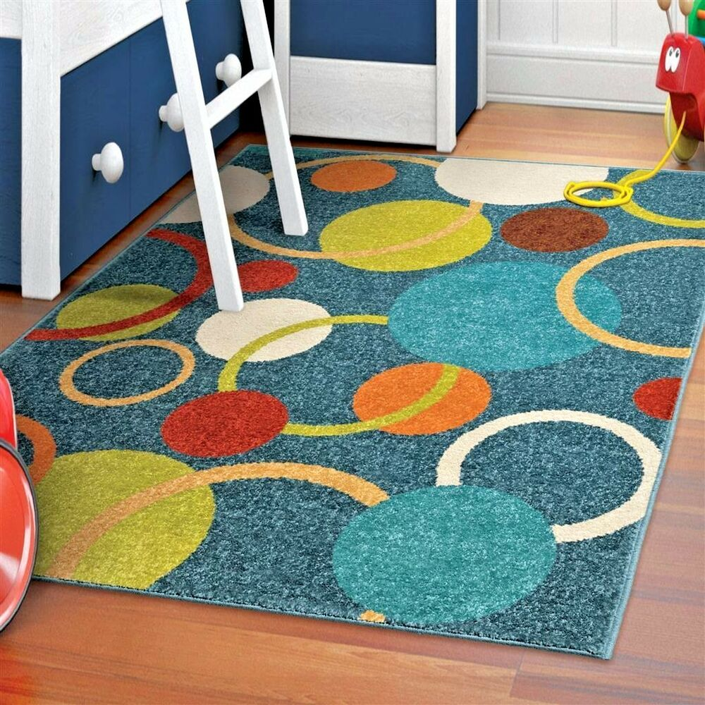 Kids Rugs Kids Area Rug Childrens Playroom Colorful