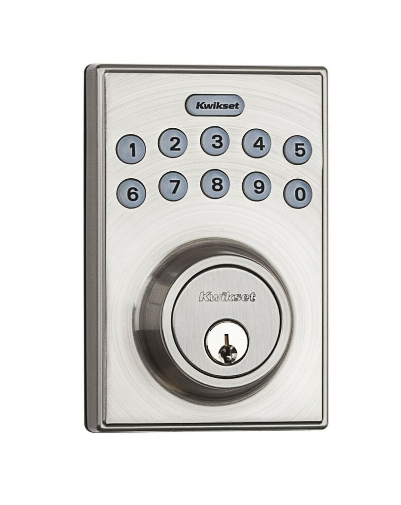 digital deadbolt electronic keyless entry lock keypad security code door safety ebay. Black Bedroom Furniture Sets. Home Design Ideas
