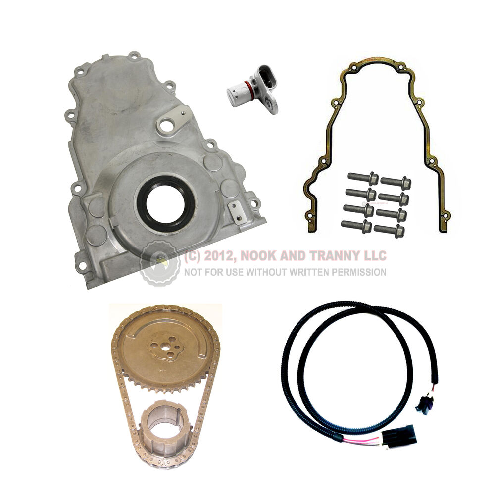 LS9 LS7 LS2 Cam Swap To LS1 LQ4 LQ9 Engine Timing Cover