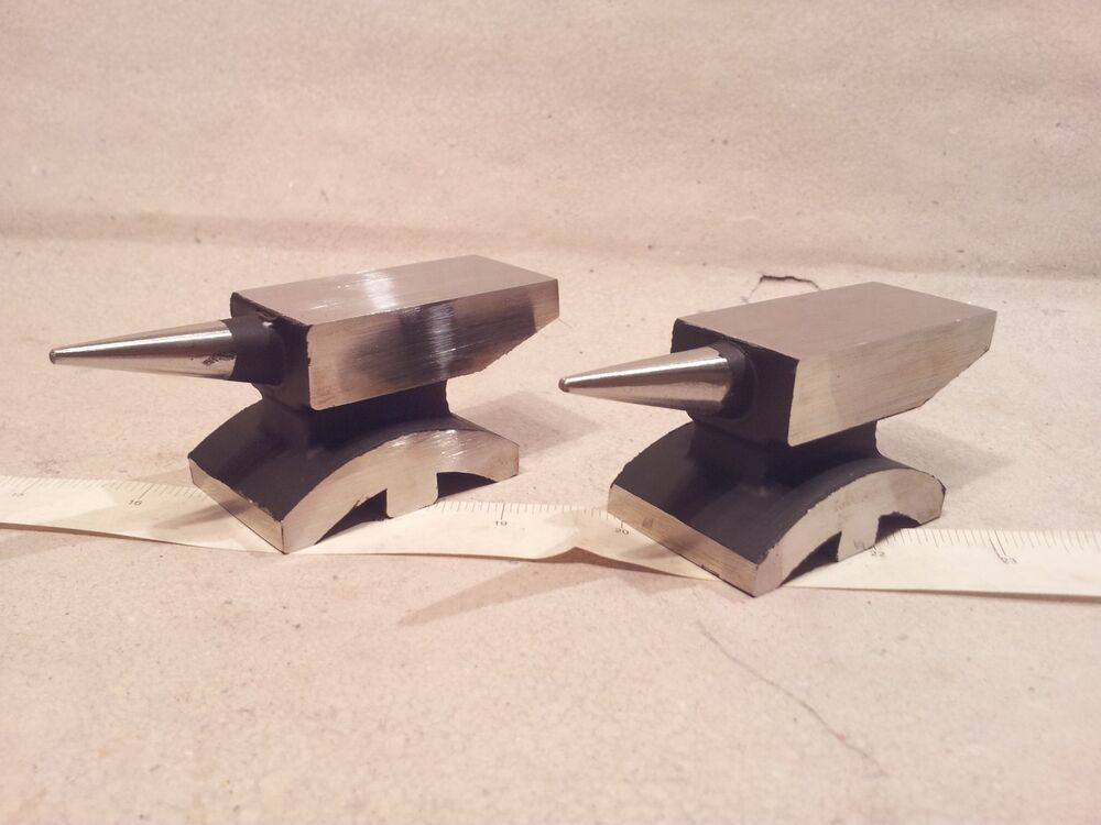Mini Jeweler Silversmith Blacksmith Single Horn Anvil
