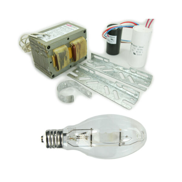 Metal Halide Lamp+Ballast Kit 250W 4-Tap 120V 208V 240V