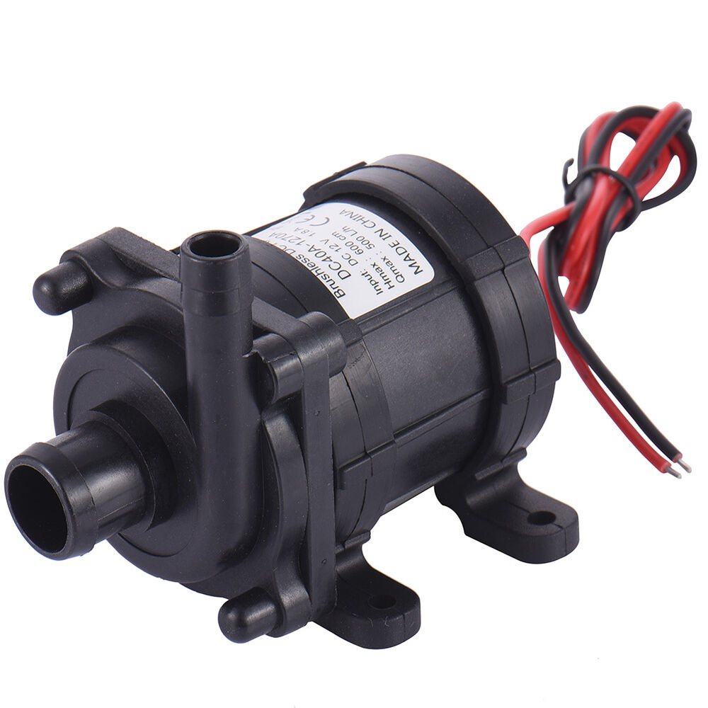 12v brushless dc submersible water fountain pump low noise for Pond water pump
