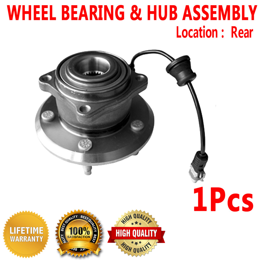 Rear Wheel Hub And Bearing Assembly For Saturn Saturn Vue 2008 2010 Ebay