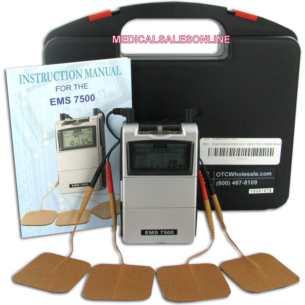 Ems 7500 Muscle Stimulation Therapy Machine Back Chronic