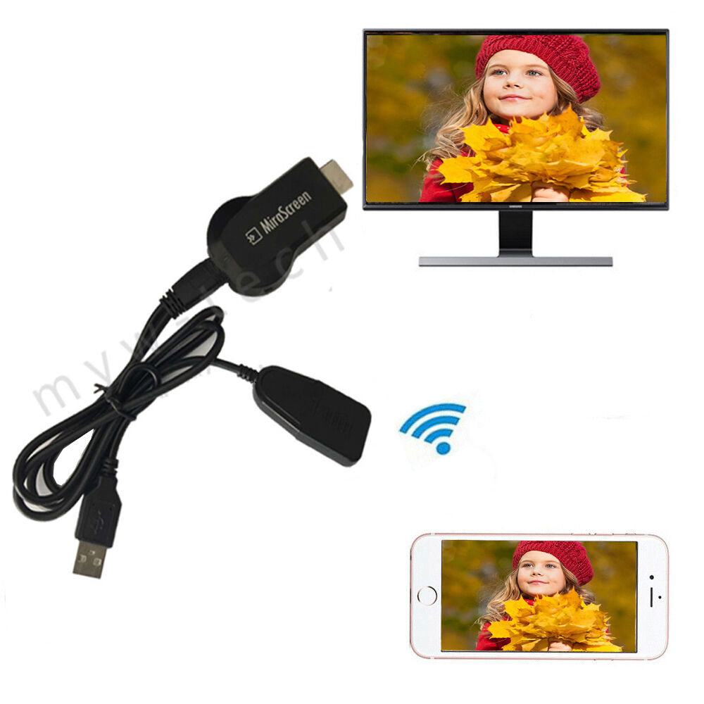 1080p Hdmi Av Adapter Cable Dongle For Connect Samsung