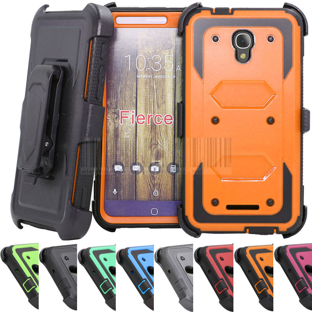 Contact Case: Armor Holster Phone Case Cover For Alcatel One Touch