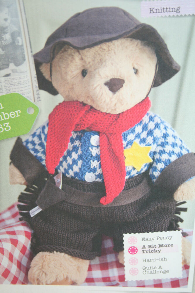 Teddy Bear Clothes Knitting Pattern eBay