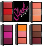 Sleek Make Up Blush By 3 Palette - ALL SHADES LACE , SUGAR ,PUMPKIN ,PINK SPRINT