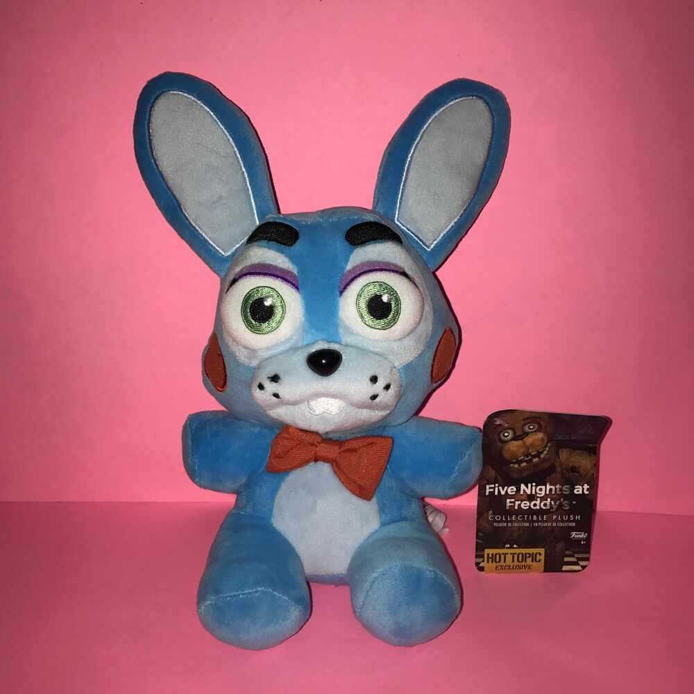 Toys From Hot Topic : Hot topic exclusive funko blue bonnie toy fnaf plush five