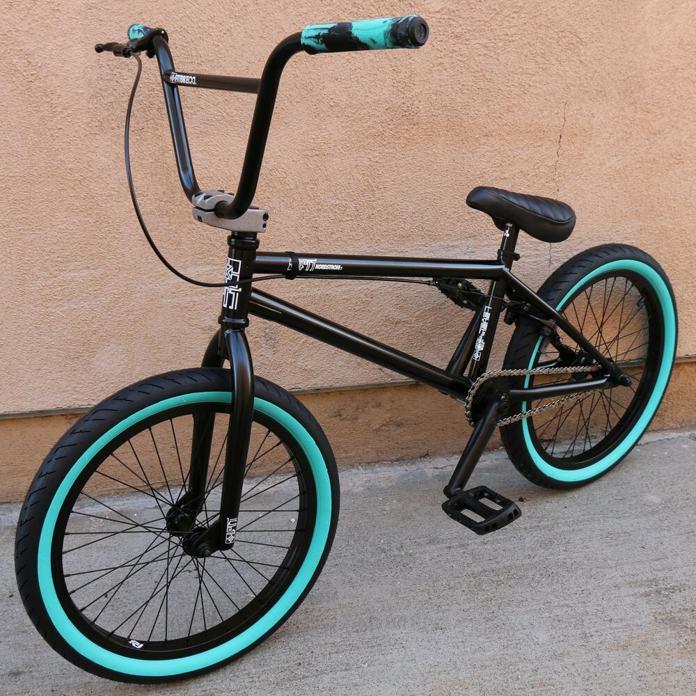"""2017 FIT BIKE CO NORDSTROM 1 BMX 20"""" BICYCLE GLOSS BLACK ..."""