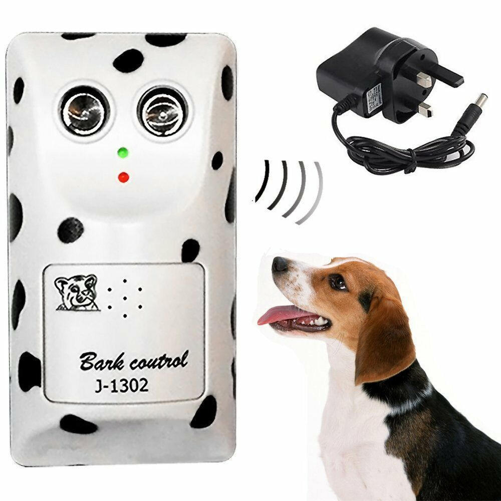 Ultrasonic Plug In Bark Stopper Anti No Stop Dog Barking