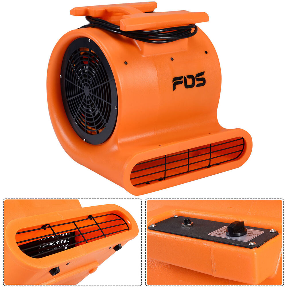 Industrial Floor Fans Blowers : Hp air mover dryer blower fan floor carpet industrial