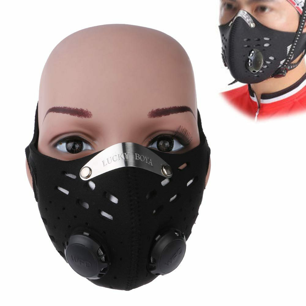 Activated Carbon Air Filter Mask Bicycle Cycling Bike Half