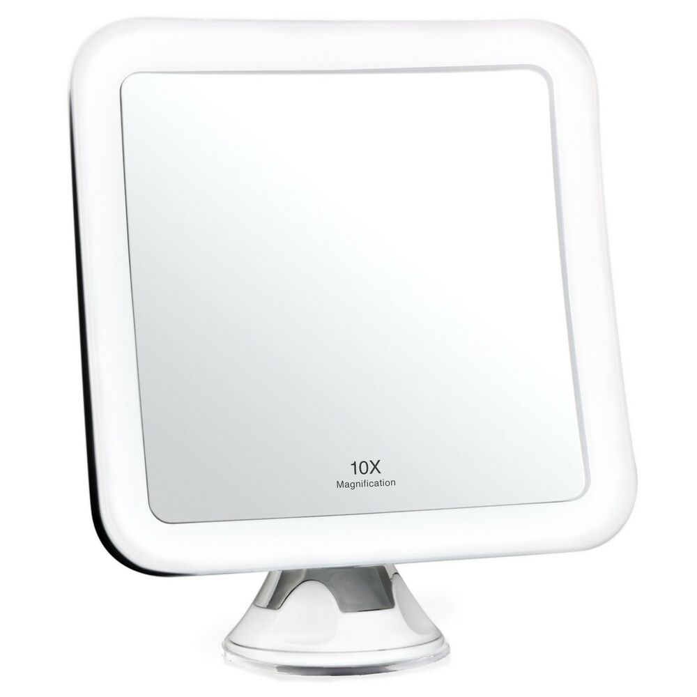 lighted makeup mirror cordless daylight led travel vanity ebay. Black Bedroom Furniture Sets. Home Design Ideas