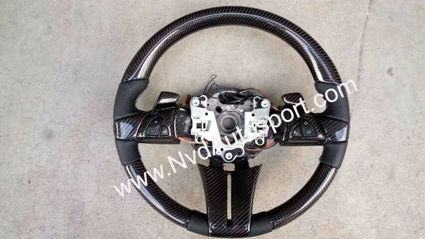 Bmw Z4 E85 E86 Carbon Fiber Steering Wheel With Shift