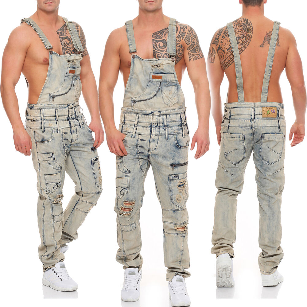 cipo baxx herren latzhose jeans hose dungarees cd 225 ebay. Black Bedroom Furniture Sets. Home Design Ideas