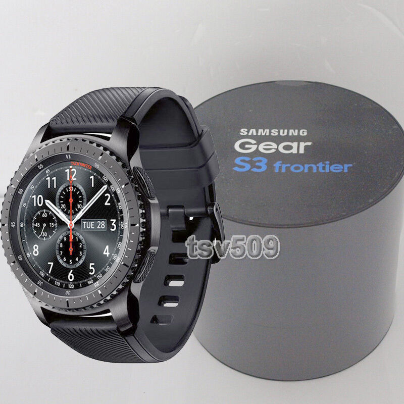 genuine samsung galaxy gear s3 frontier sm r760 wi fi. Black Bedroom Furniture Sets. Home Design Ideas