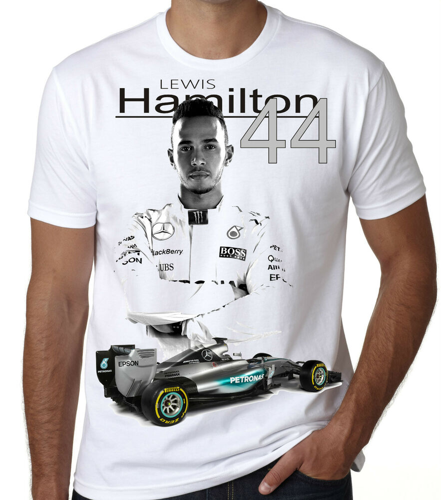 lewis hamilton 2016 t shirt brand new for 2016 season 13 ebay. Black Bedroom Furniture Sets. Home Design Ideas
