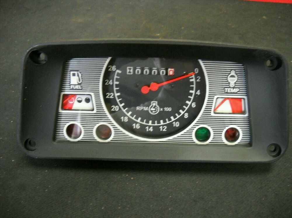 Ford 2000 Tractor Instrument Cover : New ford tractor instrument gauge cluster