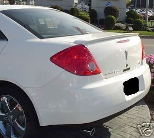 Painted 2004 2008 For Acura Tl Trunk Lip Spoiler Satin: PAINTED ANY COLOR FOR PONTIAC G6 4DR 2005-2010 REAR