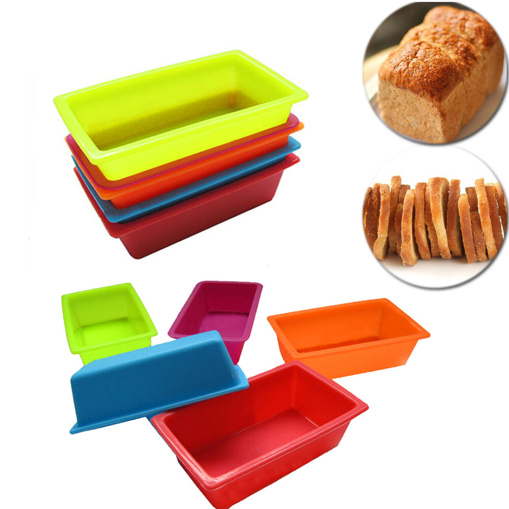 Toast Bread Box Silicone Mold Bakeware Pastry DIY Mould ...